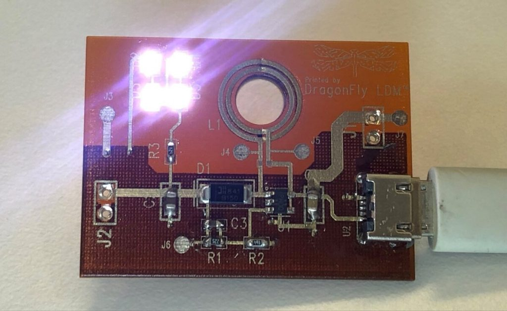 3d printed dc dc up converter