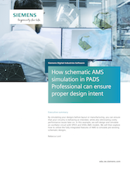 How schematic AMS simulation in PADS Professional can ensure proper design intent