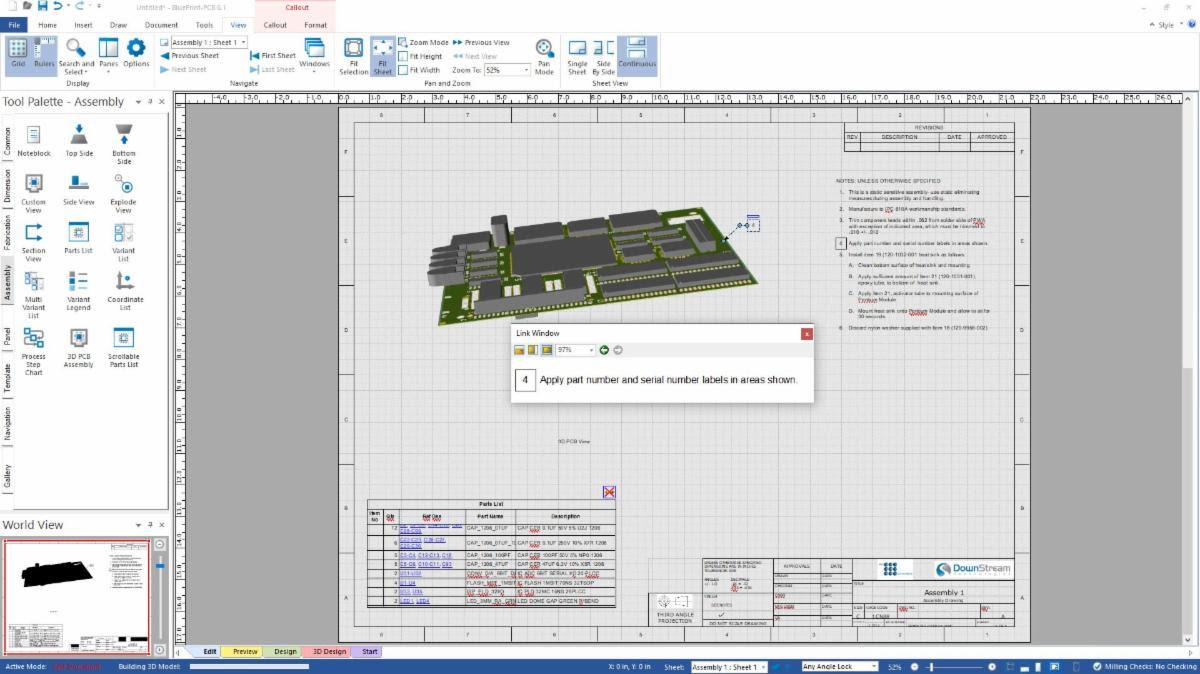 Blueprint PCB Documentation