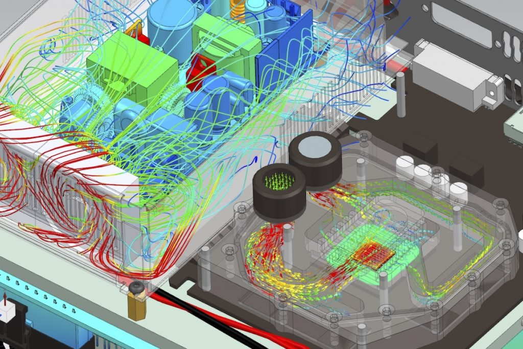 model the complexity with CFD software