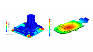 Structural finite element linear solver capabilities in Simcenter FLOEFD