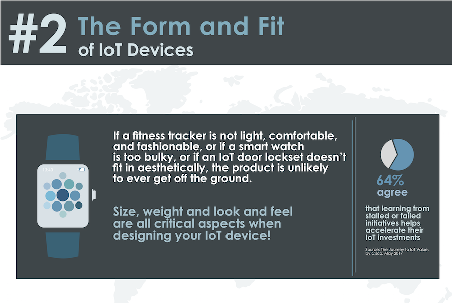the form and fit of iot devices