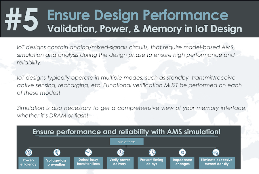 Ensure Design Performance: Validation, Power, & Memory in IoT Design