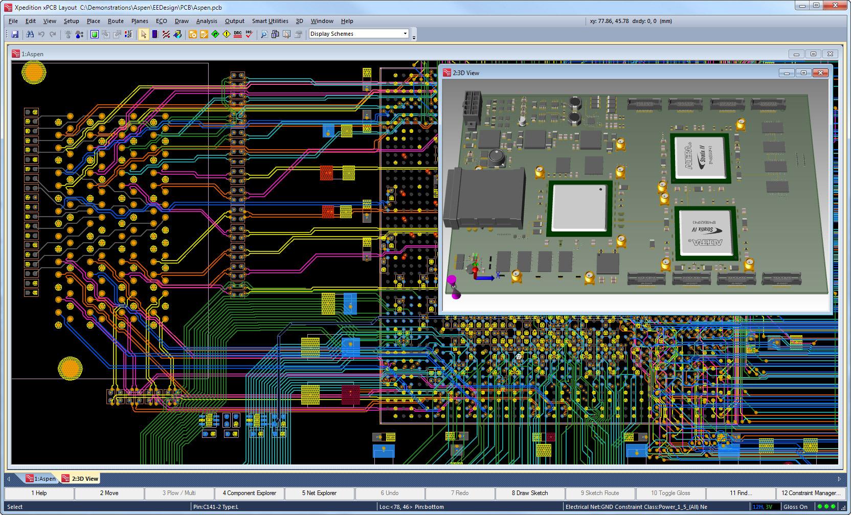PCB Layout software Design Reuse