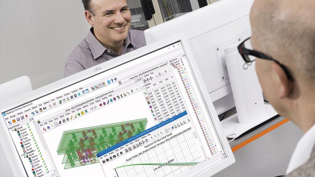 Software de Simulación Electromagnética | HyperLynx Fast 3D Solver