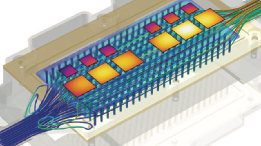 FLOEFD Electronics Cooling Module