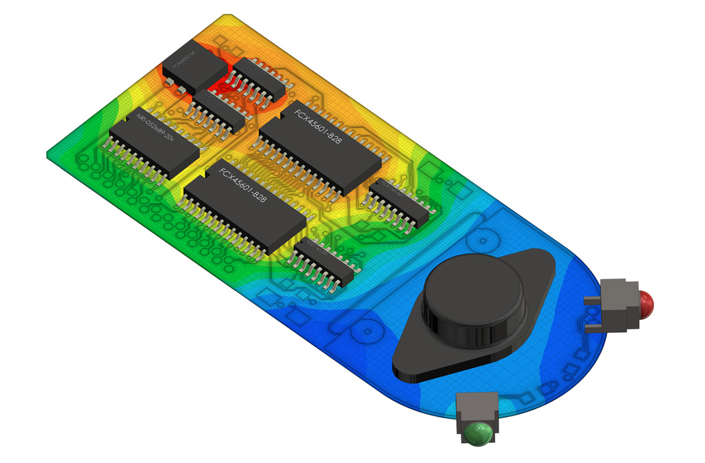 PCB Thermal Analysis with PADS Standard