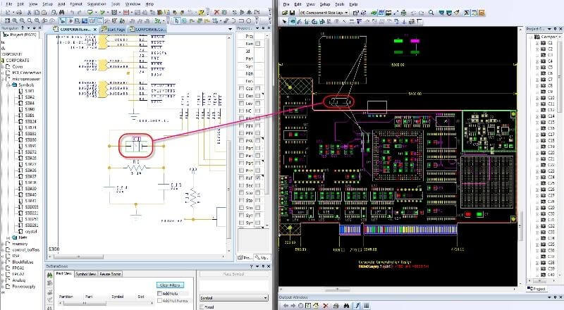 Import the Circuits created on the Cloud and manage both the Simulation and the PCB Design