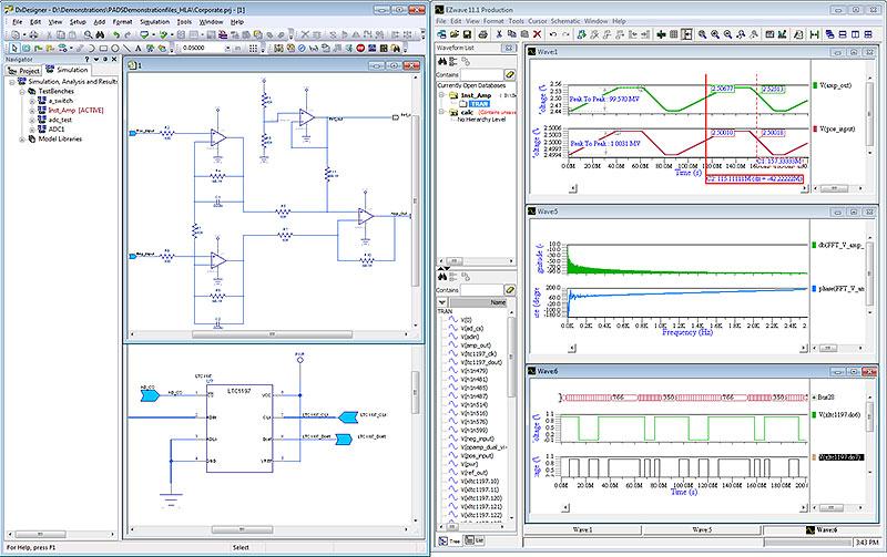 PADS PCB Schematic Design Simulation & Analysis