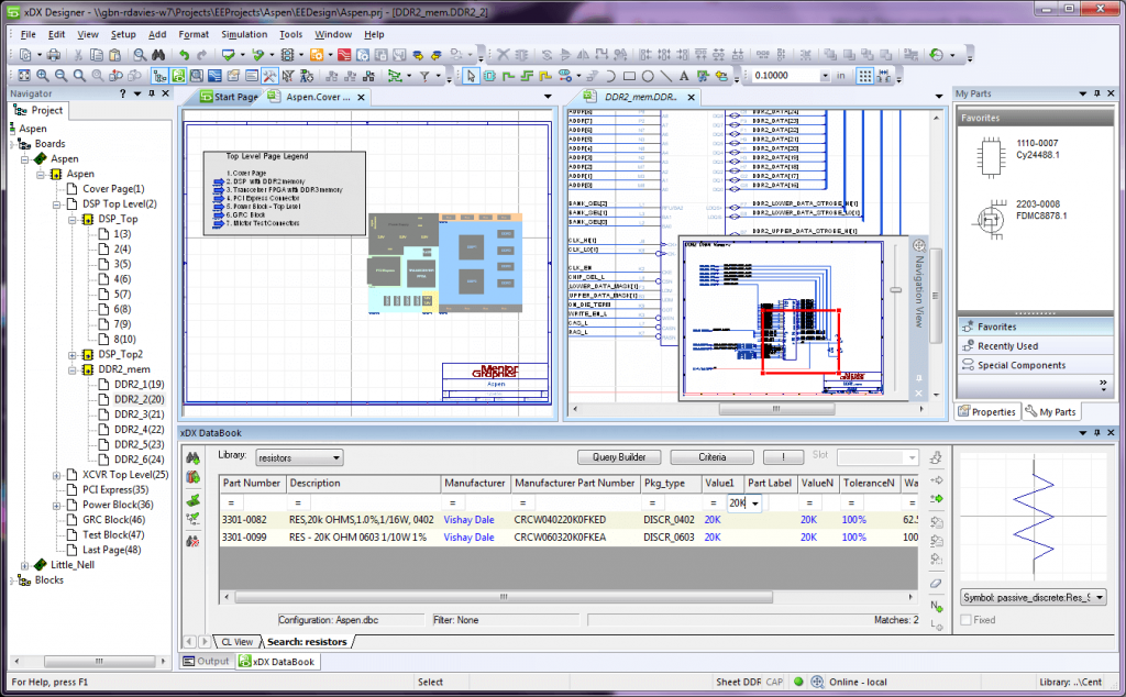 PADS schematic design intent