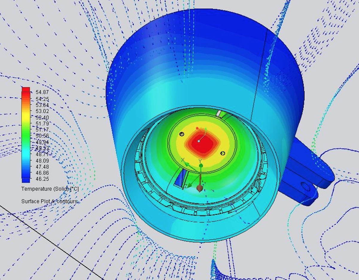 Cariboni Group CFD Simulation for Lighting