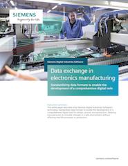data exchange in electronics manufacturing