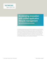 Accelerating innovation with unified application lifecycle management