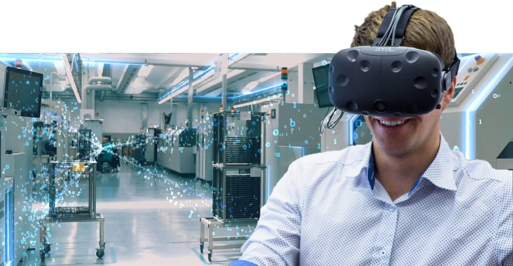 smart manufacturing with virtual reality