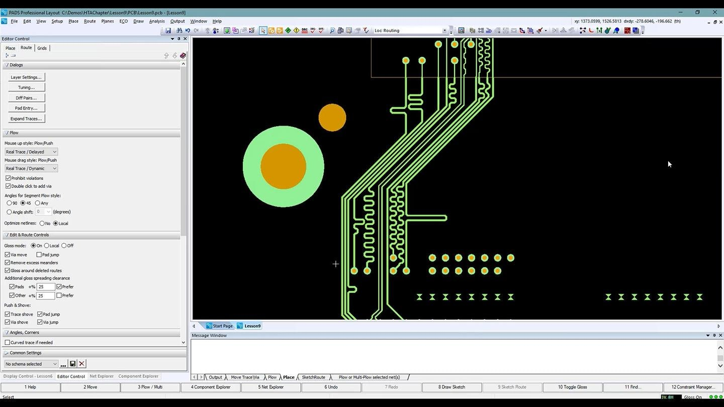 PADS PCB Design software free download (HDI / Advanced routing)