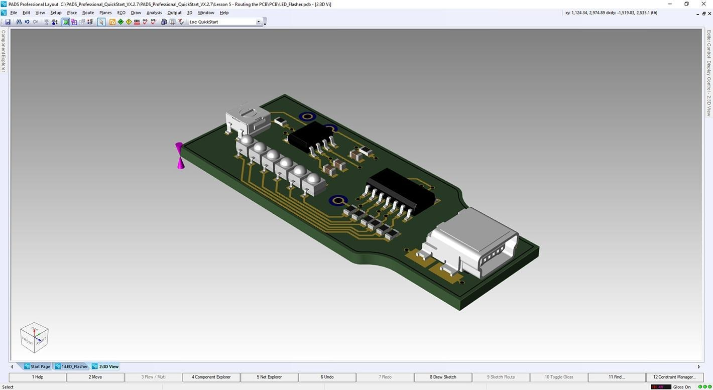 PADS PCB Design software free download (overview)