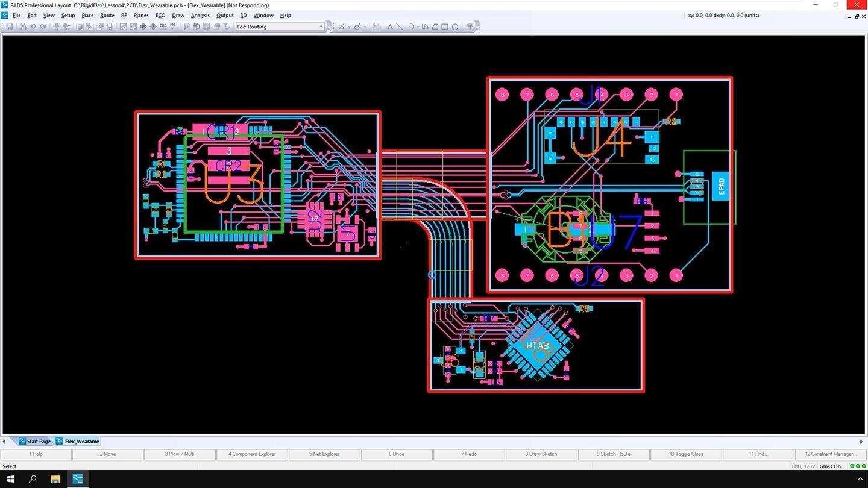 PADS PCB Design software free download (rigid flex design)