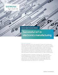 Successful IoT in electronics manufacturing